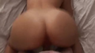 Hot Doggystyle raw hot moaning wifey gets fucked hard in her pussy!