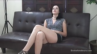 Broke Amateurs Tanya