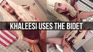 Khaleesi Is Introduced To The Bidet