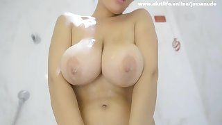 kinky amazing ex-Girlfriend Showing nice boobs on Cam