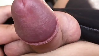 18 yr part shaved penis