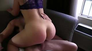 Hot slut gets great dick on vacation and gets a huge load