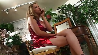 Holly Webster smoking 2
