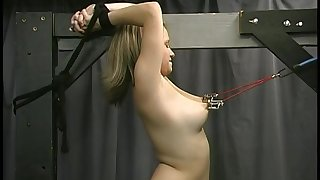 Joleen And Dungeon Slaves Spanking Sultry Submissives (Part 4)