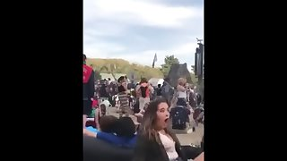 Drunk Girl Let's Random Strangers Eat Her Out At Coachella  Uncensored