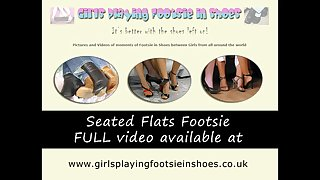 Seated Ballet Flats Footsie