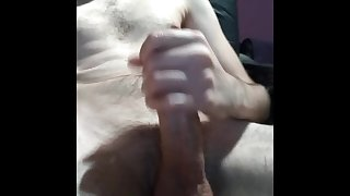 Young boy handjob big oil cock & jerk big load
