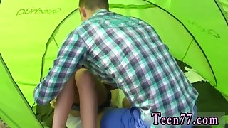 Giantess sex growth Eveline getting banged on camping site
