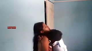 Indian Desi College Girlfriend Fun In Room Smootch