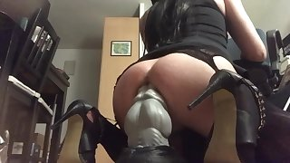 Bad Dragon XL Nova anal ride