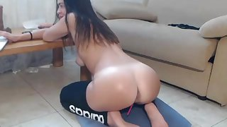 Sexy White Teen on Webcam