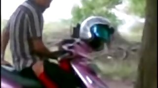 Girlfreind Sucking Dick Openly on road