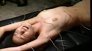 Chinese girl electro stress test