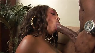 Young Black Teen Babysitter Lets Boss Dad Fuck Her With Monster Cock