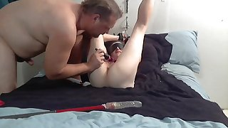 squirting slave playing