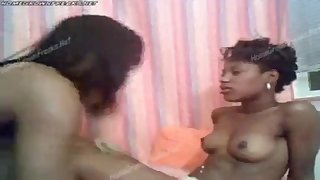 Brown Sugar and Short Cake Hot Ebony Lesbian