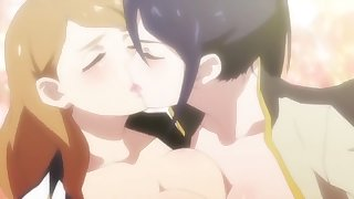 Valkyrie Drive : Mermaid and Specials (All Yuri Scenes) Compilation