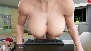 MILFY CITY #8  UNCUT ADULT VIDEO GAME
